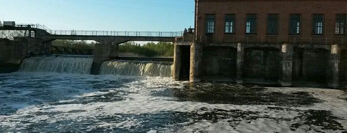 Немецкая Гидроэлектростанция is one of Orte, die Vyacheslav gefallen.
