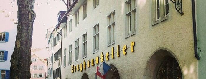 Zeughauskeller is one of Reisen FTW.