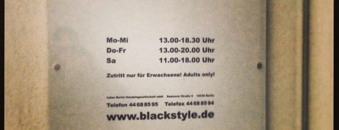 Blackstyle is one of Berlín - Shopping.