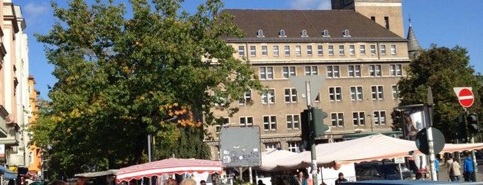 Wochenmarkt Breslauer Platz is one of Berlin.