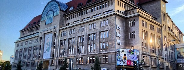 Kaufhaus des Westens (KaDeWe) is one of BERLIN.