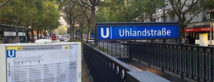 U Uhlandstraße is one of My personal list at Berlin.