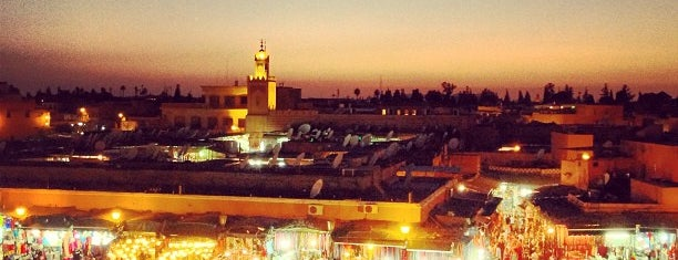 Place Jemaa el-Fna is one of {moroccan moments}.