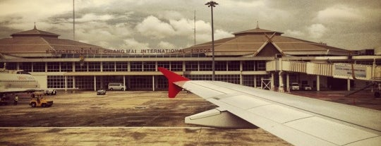 Chiang Mai International Airport (CNX) is one of Free WiFi Airports 2.