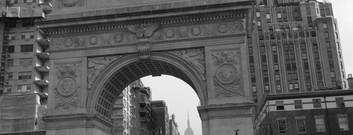Washington Square Park is one of Manhattan Favorites.