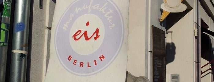 eismanufaktur Berlin is one of Locais curtidos por Babbo.