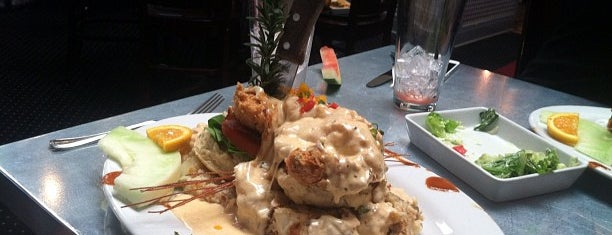 Hash House A Go Go is one of Great Eats.