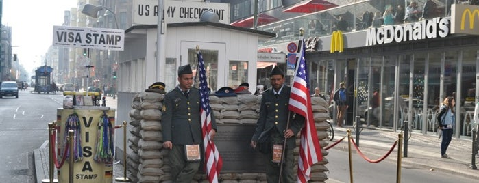 Checkpoint Charlie is one of Historical Berlin.