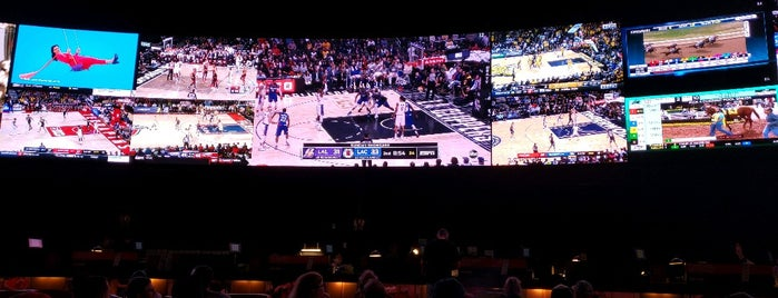 Sports Book Bar is one of Vegas, Baby, Vegas.