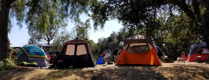 Campground G Lake Casitas is one of LA.