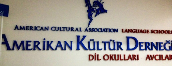 American Cultural Association Language Schools-Amerikan Kültür Derneği/Avcılar is one of Aral : понравившиеся места.
