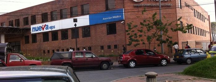 Hospital Universitario de Barrios Unidos - Méderi is one of Aquí Se debería Poder Rayar las Paredes.