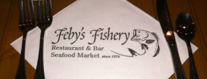 Feby's Fishery is one of Everything.
