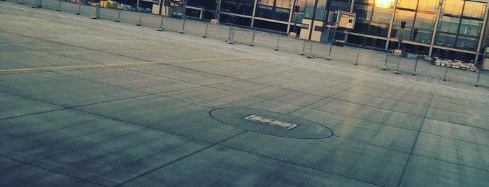 Berlin Brandenburg Airport Willy Brandt (BER) is one of 4sq365de (1/2).