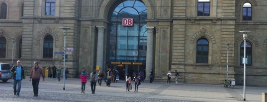 Magdeburg Hauptbahnhof is one of Bahnhöfe besucht !.