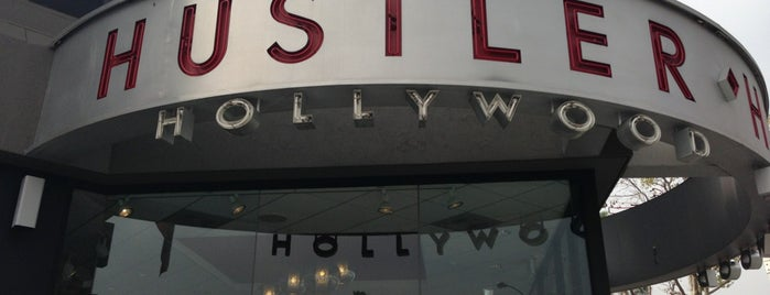 Hustler Hollywood is one of SoCal to-do.