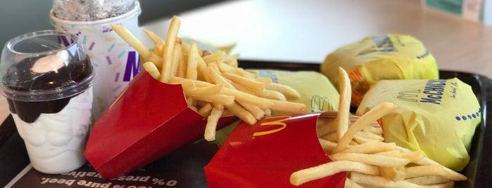 McDonald's is one of Tony'un Beğendiği Mekanlar.