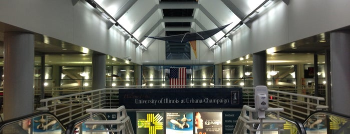 University Of Illinois Willard Airport (CMI) is one of Airports I've Traveled From.