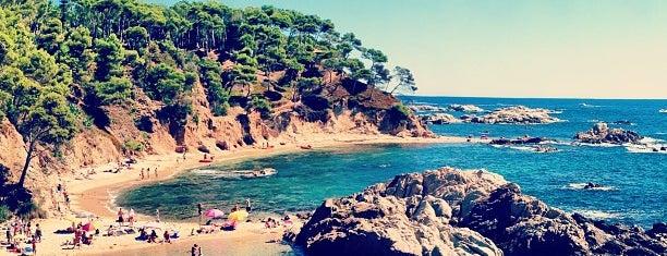 Cala Estreta / d'en Remendón is one of Playas de España: Cataluña.