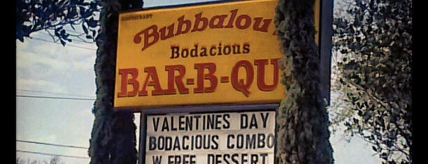 Bubbalou's Bodacious Bar-B-Q is one of Tempat yang Disimpan Scott.
