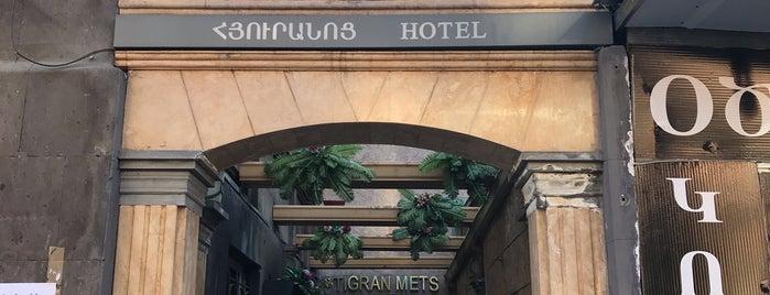 Tigran Mets Hotel is one of Armenia.