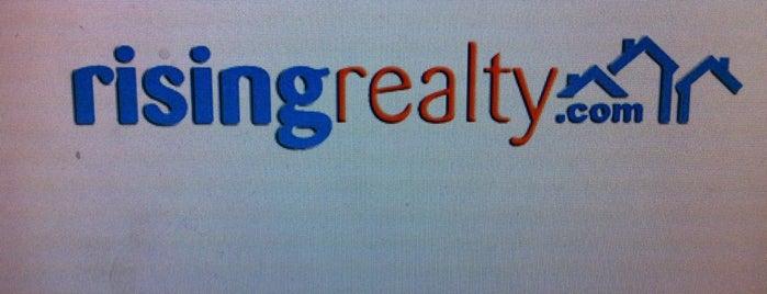 Rising Realty is one of Orte, die Raum gefallen.