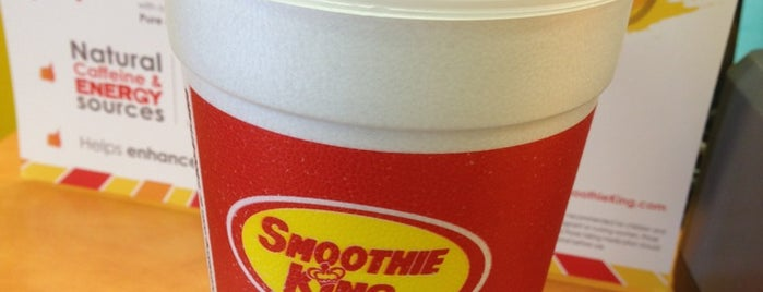Smoothie King is one of Lieux qui ont plu à Steve.