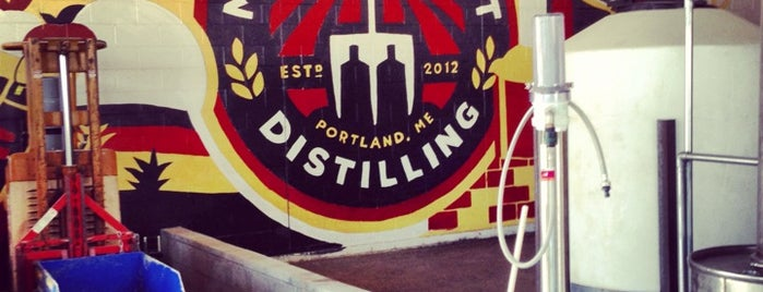 Maine Craft Distilling is one of Portland, Maine.