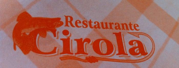 Restaurante Cirola is one of Tempat yang Disukai Areta.