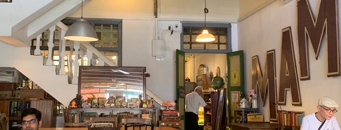 Vintage Green Cafe is one of Malacca Finds.