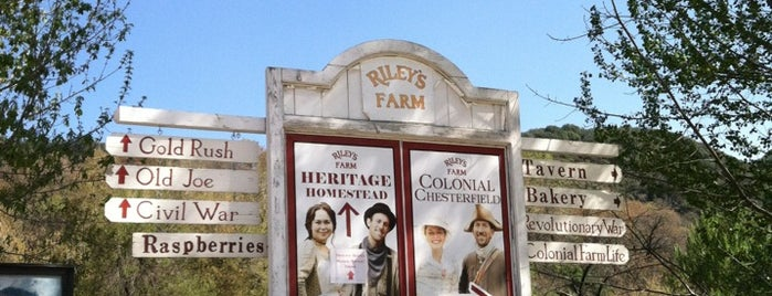 Riley's Farm is one of California.