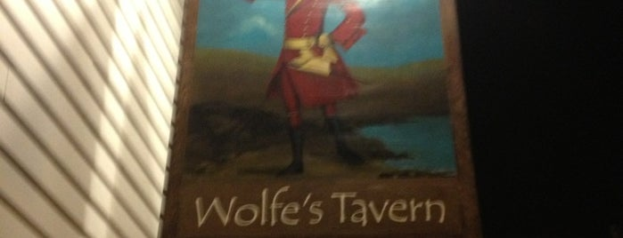 Wolfe's Tavern is one of Where in the World (To Drink).