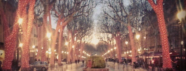Cours Mirabeau is one of Lugares favoritos de Marc-Edouard.