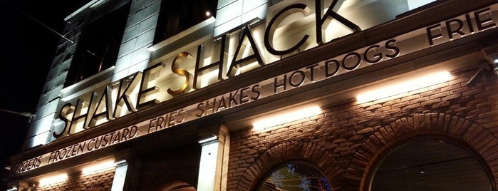Shake Shack is one of # istanbul.
