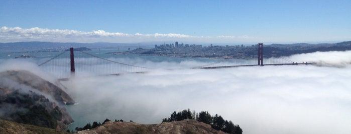 Hawk Hill is one of San Francisco.