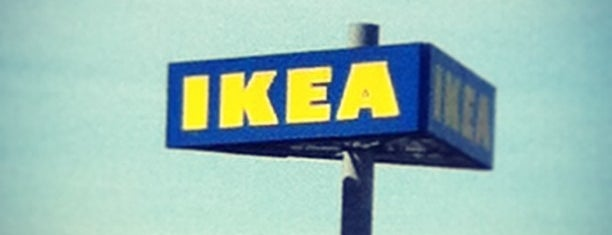 IKEA is one of Lieux qui ont plu à Justine.