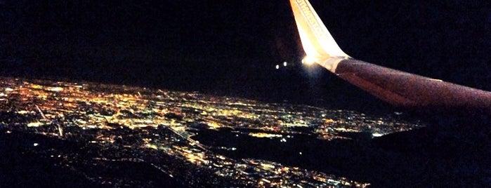 Oakland International Airport (OAK) is one of Flyin' Around the Globe.