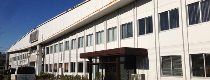 図書印刷 沼津工場 is one of 丹下健三の建築 / List of Kenzo Tange buildings.