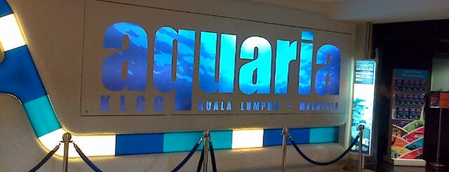 Aquaria KLCC is one of Lieux qui ont plu à Barry.