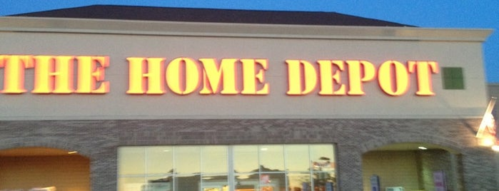 The Home Depot is one of Dave 님이 좋아한 장소.