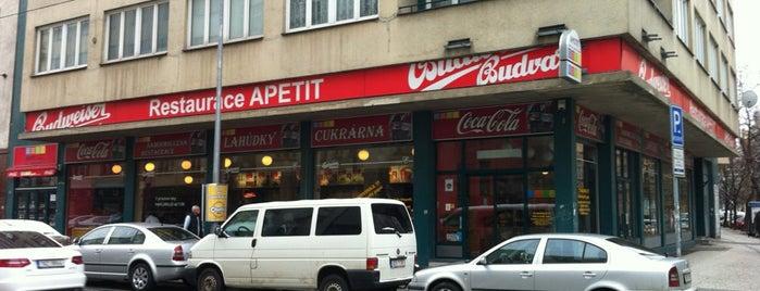 Apetit is one of Pražské vývařovny.