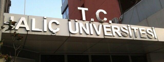 Haliç Üniversitesi is one of Ae912.