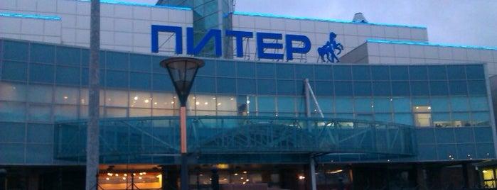 ТРК «Питер» is one of TOP-100: Торговые центры Санкт-Петербурга.
