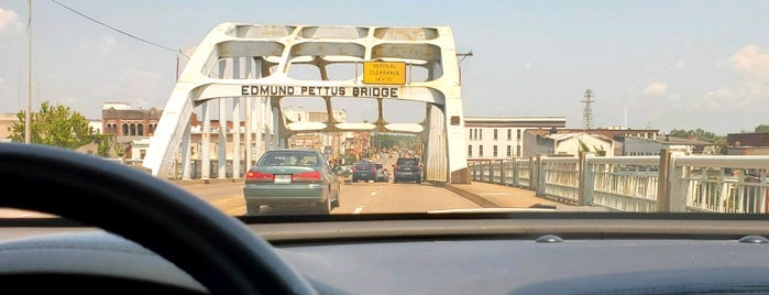 Edmund Pettus Bridge is one of seen onscreen part 2.
