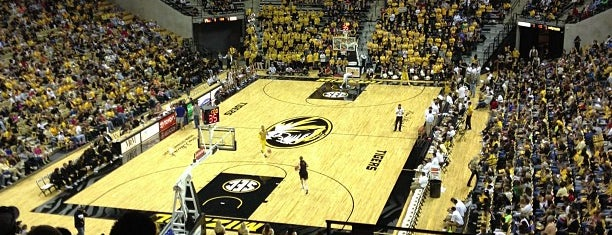 Mizzou Arena is one of Venues....
