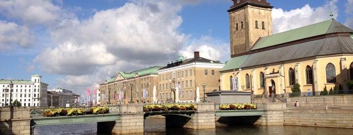 Tyska Bron is one of Gothenburg.
