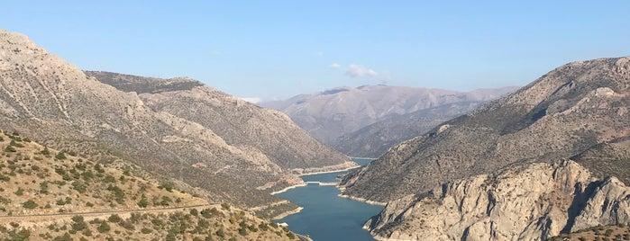 Başpınar köprüsü / Vali Recep yazicioglu Koprusu is one of Tempat yang Disukai Seda.