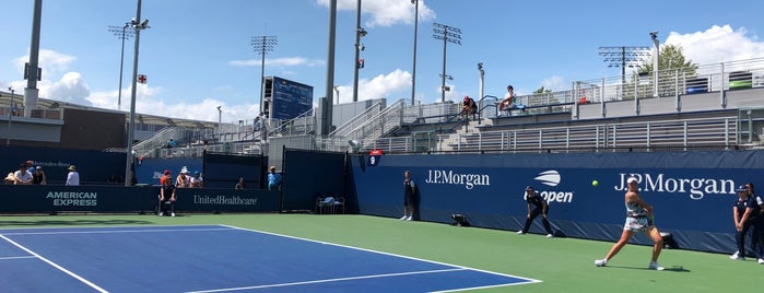 Court 9 - USTA Billie Jean King National Tennis Center is one of Must-visit Stadiums in Flushing.