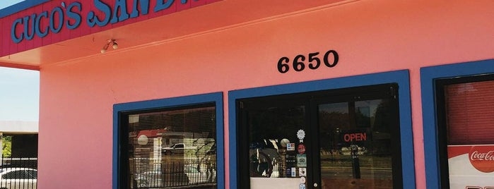 Cuco's Sandwich Shop is one of DFW.