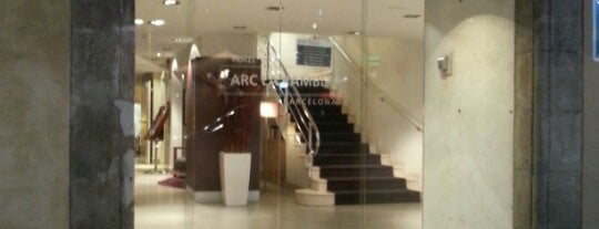 Hotel Arc La Rambla is one of Barcelona.